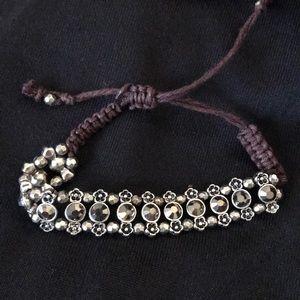 Jewelry - RHINESTONE SLIDING KNOT BRACELET